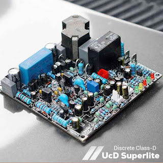Discrete Class-D Amplifier UcD Superlite