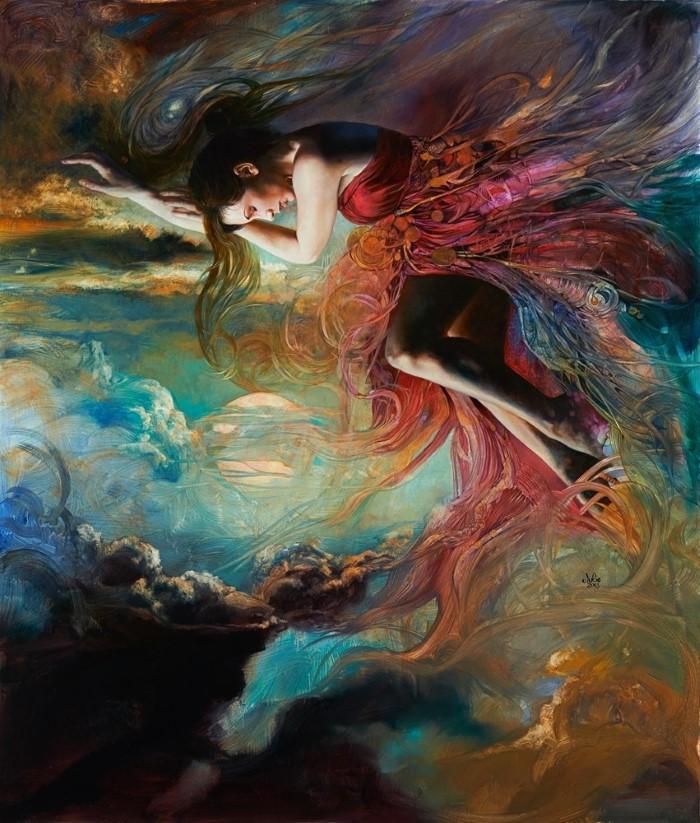 Американский художник. Julie Bell