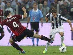 kesannya menundukkan salah satu rivalnya itu dengan  Terkini Dua Gol Marchisio Bawa Juve Tekuk Milan