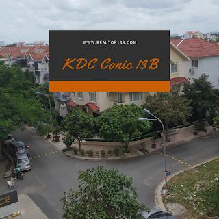 Đất nền KDC Conic 13B Phong Phú