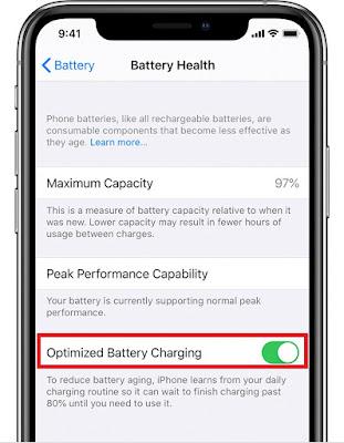 Improve iPhone Battery Life.