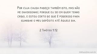 2 Timóteo 1:12