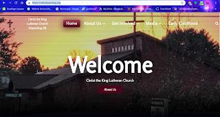jacksonville church website design
