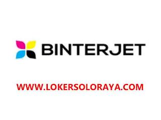 Loker Solo di PT Binterjet Indonesia Mei 2021