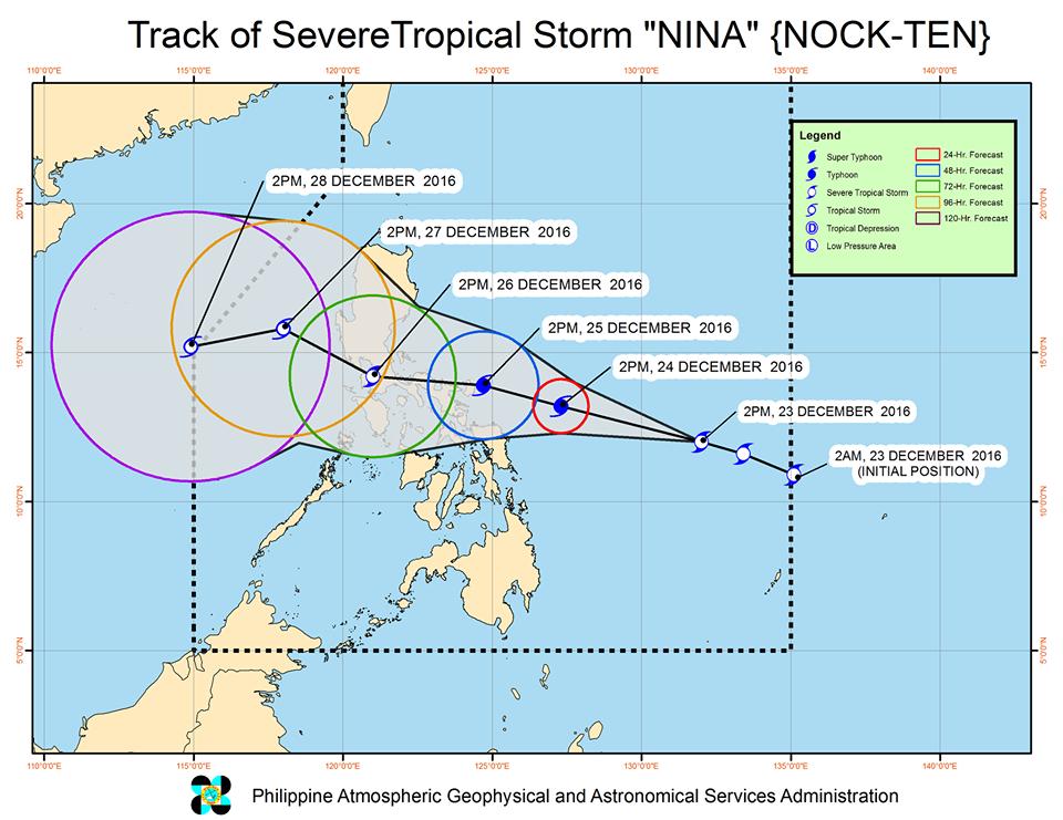 Severe Tropical Storm Nina