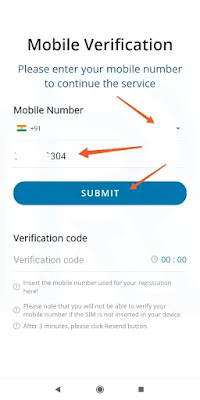 Real Research App  Mobile Verification