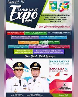 List Daftar Peserta Pameran TALA EXPO 2018 Di Pertasi