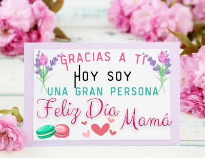Tarjeta de felicitación para mamá