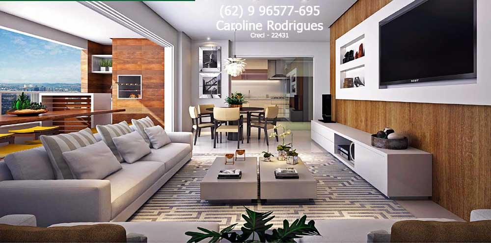R$ 787.478,11 | Apartamentos De 150 E 170m² No Setor Bueno Atrás Da  Academia Smart Fit | Gaia Consciente Home
