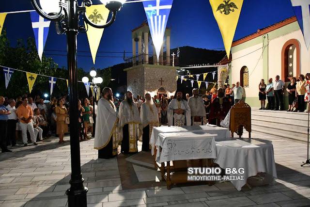 Τίμησαν την Αγία Παρασκευή στον ομώνυμο οικισμό της Ασίνης