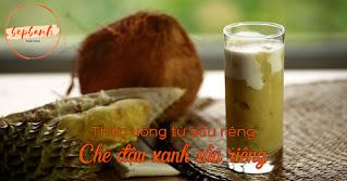 4 công thức pha chế đồ uống từ sầu riêng béo ngậy thơm nức 1