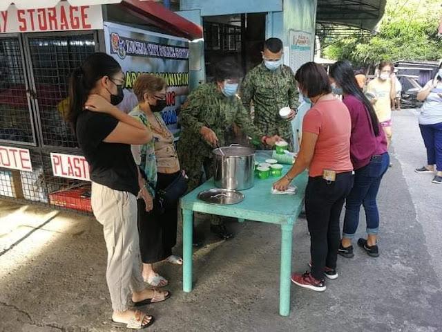 Barangayanihan Program ng Lucena PNP, patuloy na isinasakatuparan