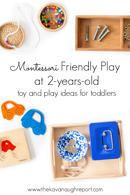 A look at the Montessori friendly toys we are using at 2.5-years-old.