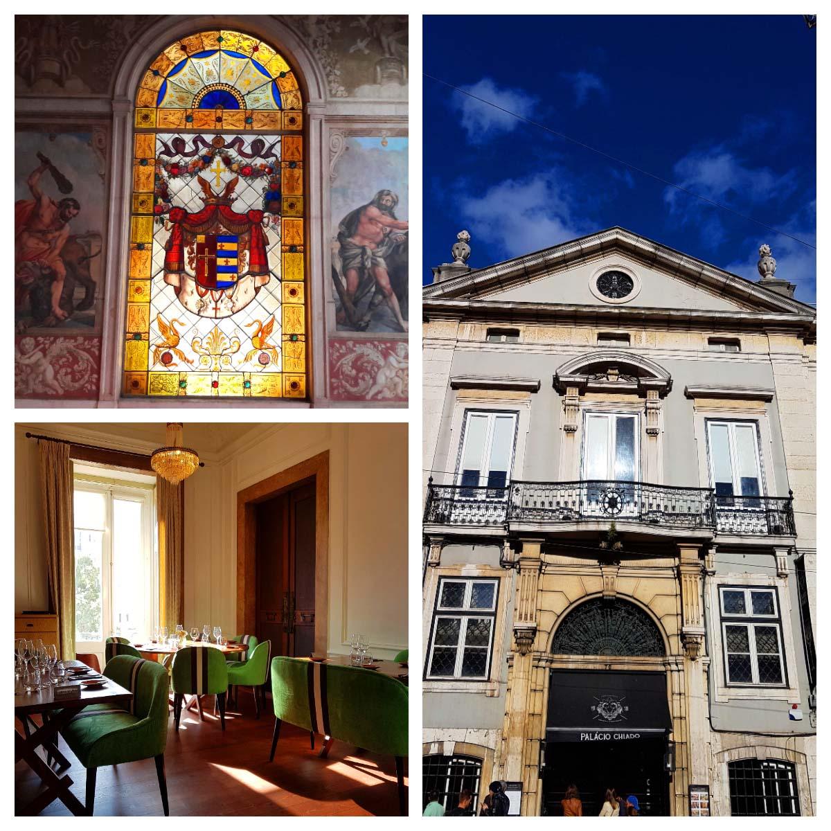 Onde comer em Lisboa: Palácio do Chiado