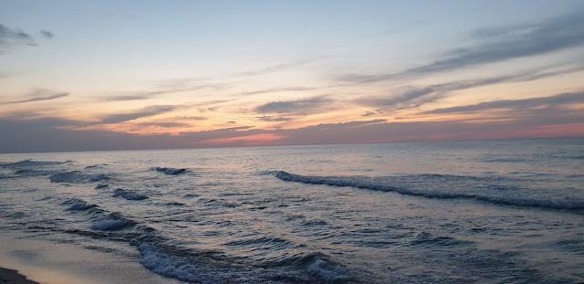 Sarbinowo plaża morze Bałtyckie