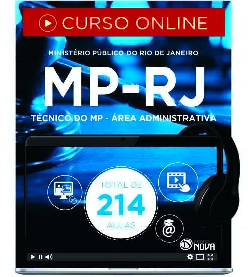 Curso Online MP RJ 2016 Técnico Administrativo