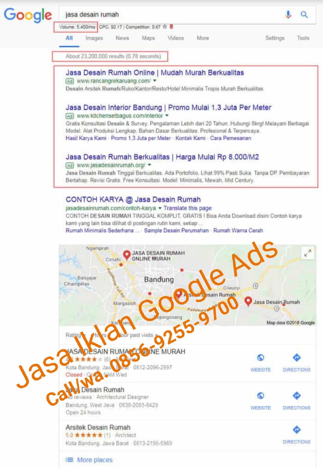 Jasa Pasang iklan Google Ads/Adwords