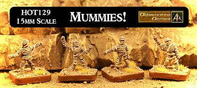 Mummies now released in HOT 15mm Fantasy Range