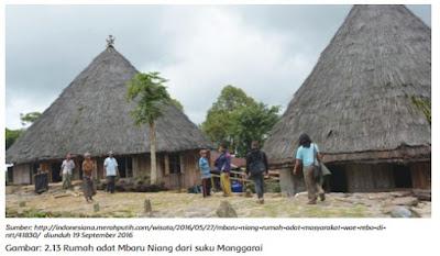 Rumah adat Mbaru Niang dari suku Manggarai www.simplenews.me