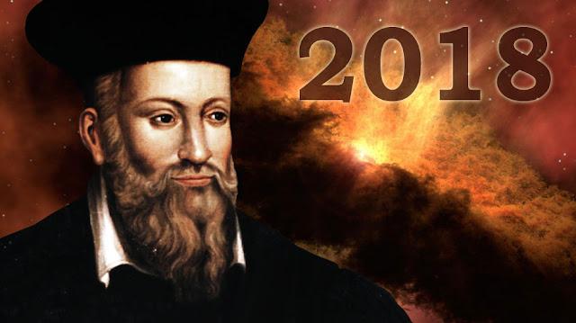 Intip Ramalan Menakutkan Nostradamus Mengenai Tahun 2018
