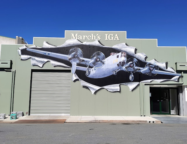 IGA Mural in Tocumwal by David Monks & Kevin Boucher