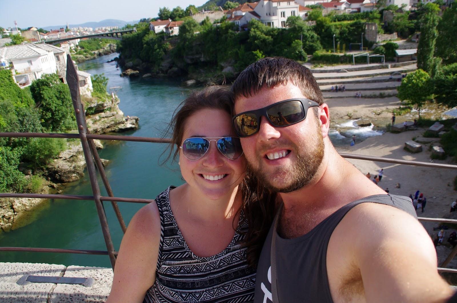 Couple on Stari Most Mostar