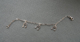 srebrna bransoletka nuty srebro 925 oryginalna biżuteria netstylistka biżuteria handmade