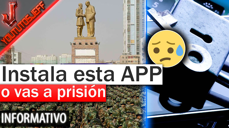 O instalas esta app o vas a prisión - China
