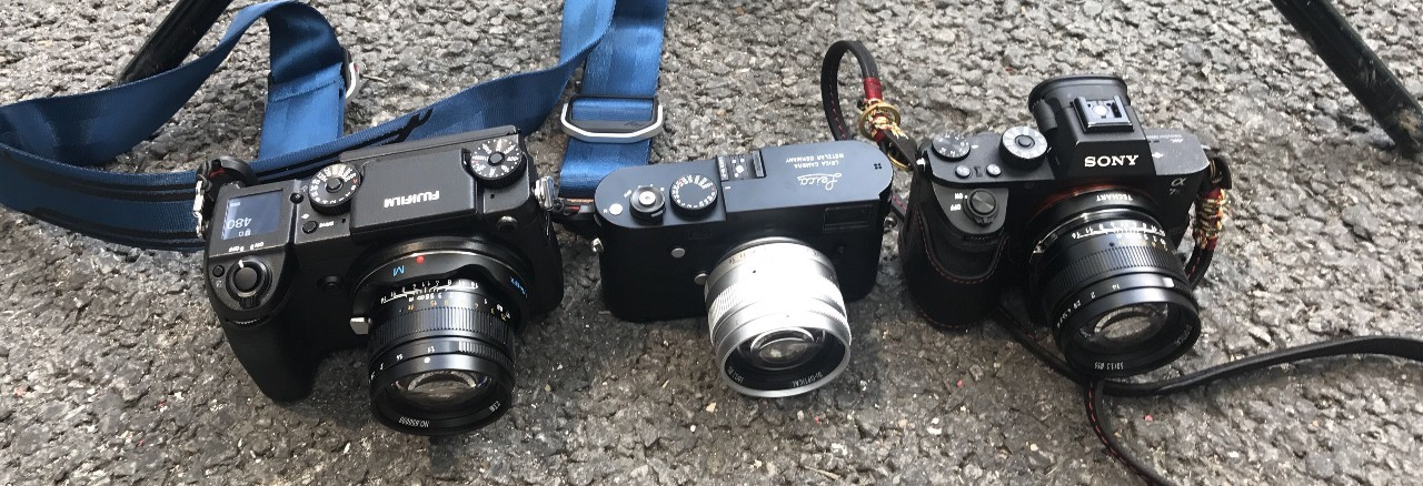 Объектив 7Artisans 50mm f/1.1 на камерах Fujifilm GFX 50s, Leica M10 и Sony A7R II