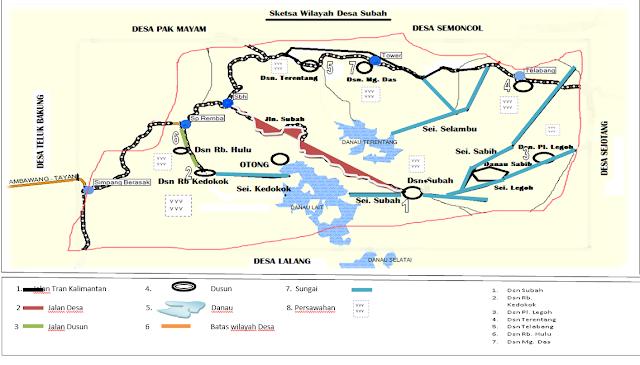 Sejarah Desa Subah Kecamatan Tayan Hilir Kabupaten Sanggau