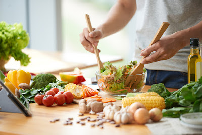 cooking vegetables salad healthy eating iStock 603906484