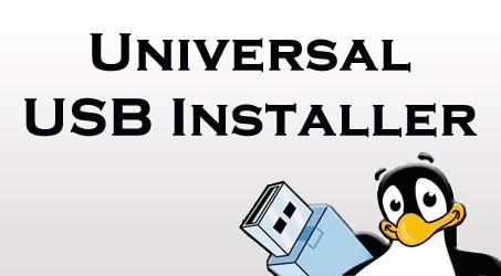 برنامج Universal USB Installer لصنع توزيعات لينكس والوندوز حية على الفلاشة