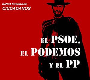 el villano arrinconado, humor, chistes, reir, satira, PP, PSOE, Podemos, Ciudadanos