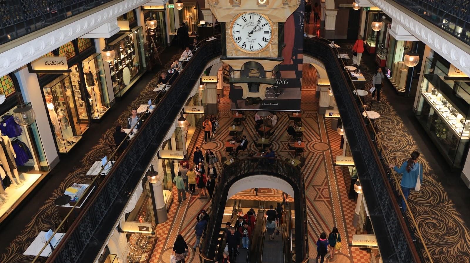 QVB shopping