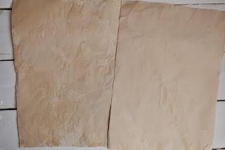 postarzanie papieru w domu diy