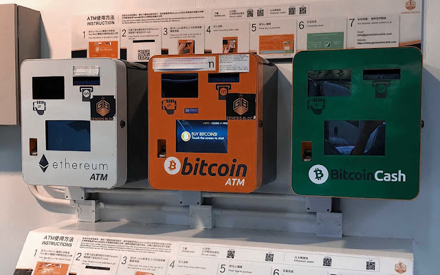 The number of ATMs in digital currencies is increasing