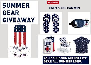 Swell Miller Lite Summer Gear Instant Win Giveaway 5 417 Winners Theyellowbook Wood Chair Design Ideas Theyellowbookinfo