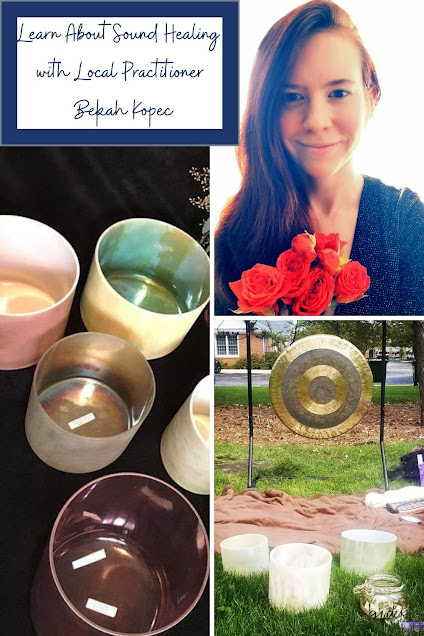 Learn About Sound Healing and New Moon Meditation and Sound Healing Events with Local Practitioner Bekah Kopec