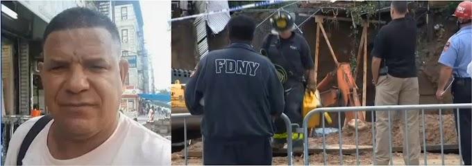 Sigue intensa búsqueda del cuerpo de trabajador dominicano sepultado en escombros tras colapso de muro
