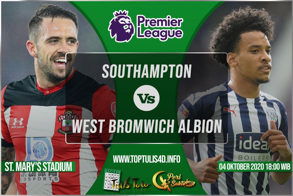 Prediksi Southampton vs West Bromwich Albion 04 Oktober 2020
