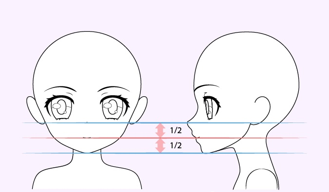 Gambar mulut gadis anime lucu