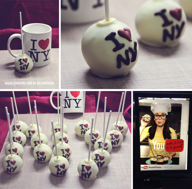 i love NY cakepops