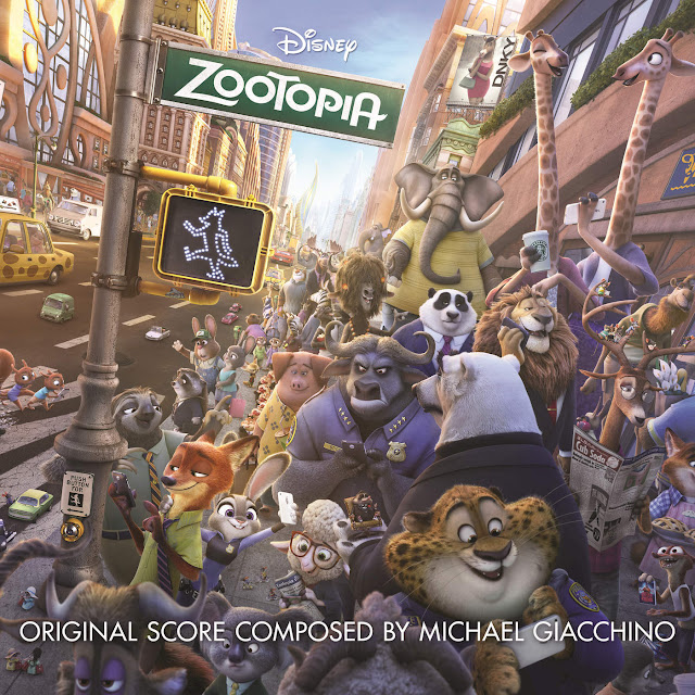 Try Everything - Zootopia - Shakira (2016) iTunes Album Cover Art AlbumArt Featuring All Zootopia Characters