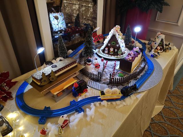 Christmas Train Set at IHG Christmas Party