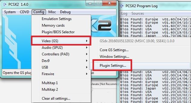 agar pcsx2 1.4.x berjalan lancar di emulator tehnomac