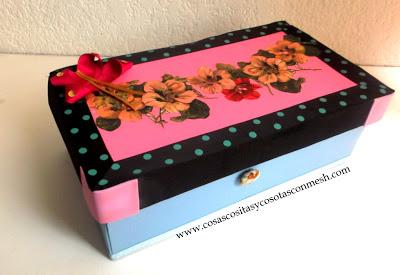 10 ideas para aprender c mo reciclar cajas de zapato - Como adornar una caja de zapatos ...