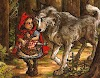 Little Red Riding Hood a story by Grimm Brothers