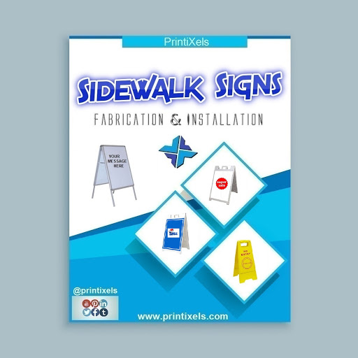 Sidewalk Signs, A-Frames & Sandwich Boards