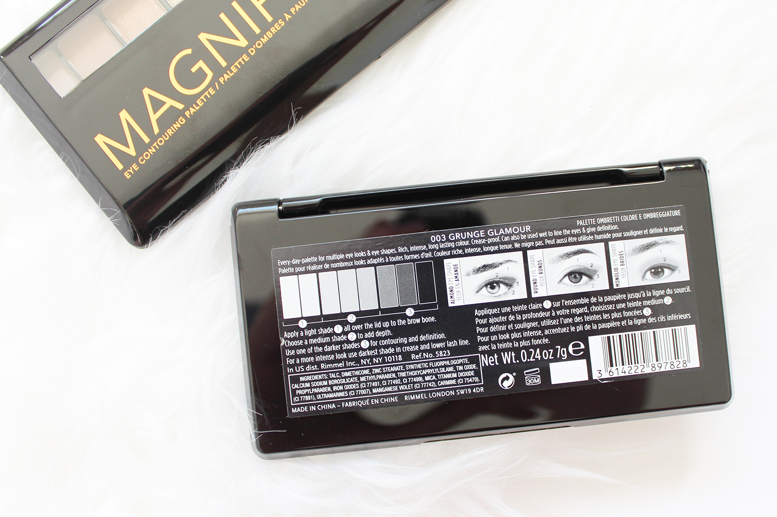 RIMMEL | Magnif'eyes Contouring Eye Palettes - Review + Swatches - CassandraMyee