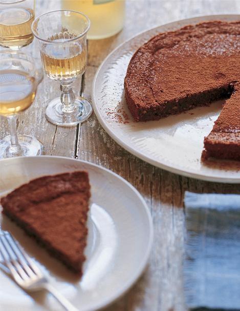 Giada Laurentiis Chocolate Mascarpone Pound Cake